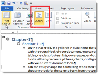 mla format in microsoft word 2010
